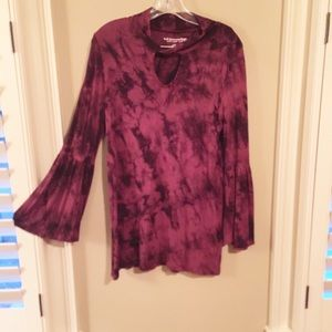 Soft Surroundings marbled tunic